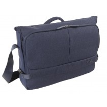 MESSENGER PORTA PC A 2 COMPARTI - DUTY - BLU