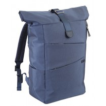 ZAINO ROLL TOP 2 COMPARTI CON TASCHE - BLU