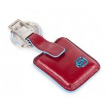 Portachiavi dotato di dispositivo CONNEQU BLUE SQUARE ROSSO