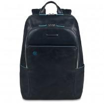 "Zaino portaPC 14"" porta iPad/iPadmini BLUE SQUARE BLU"
