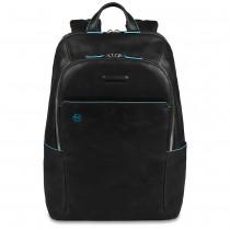 """Zaino portaPC 14"""" porta iPad/iPadmini BLUE SQUARE NERO"""