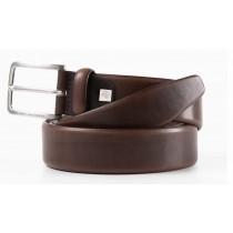 Cintura uomo con fibbia ad ardiglione cm.125 C56 MARRONE