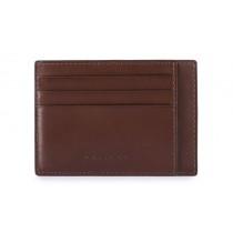 Bustina porta 6 carte di credito tascabile RFID Bold Testa Moro