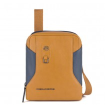 BORSELLO PORTA IPAD MINI  HAKONE TABACCO E BLU