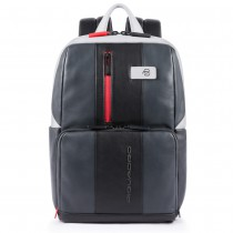 """Zaino porta PC 14"""" e porta iPad®Air/Pro 9.7""""/iPad 11"""" Urban Grigio/ Nero"""