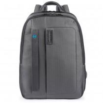 """Zaino porta PC 14"""" e porta iPad®10,5""""/iPad 9,7"""" P16 Chev Grigio"""