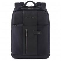 """Zaino sottile porta PC 14"""" e porta iPad®Air/Pro 9.7""""/iPad 11"""" Brief Blu"""