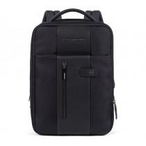 """Zaino sottile espandibile porta PC 14"""" iPad®Air/Pro 9.7""""/iPad 11"""" Brief Blu"""