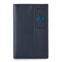 Porta carte di credito verticale P15 Blu Notte