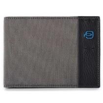 Portafoglio uomo portadocumenti monete card P16 CLASSY