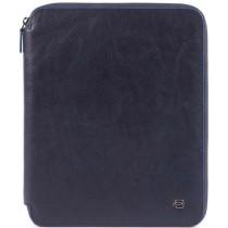 Portablocco sottile A4 con lampo BLUE SQUARE SPECIAL BLU